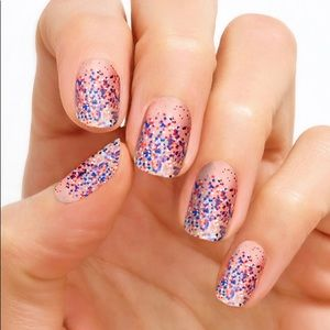 Color Street Red White & Beautiful Nail Strips